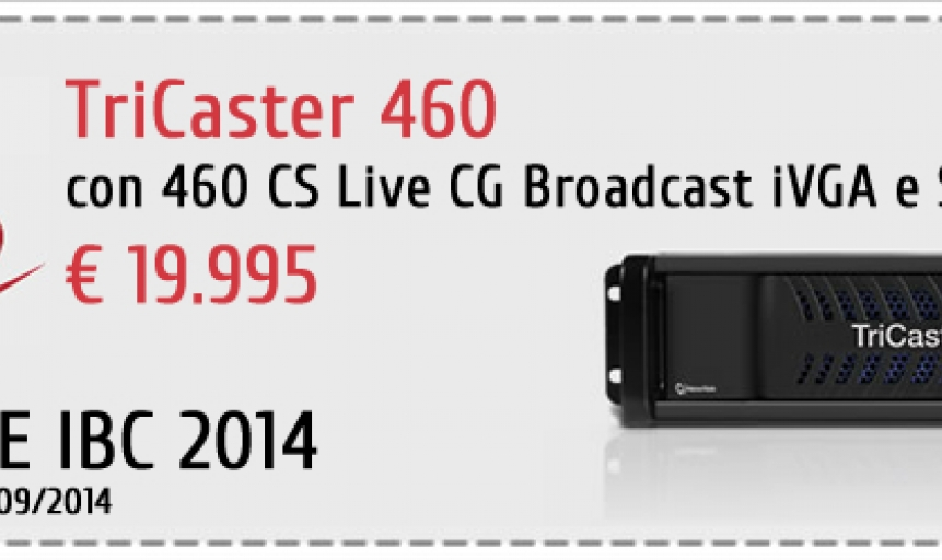 TriCaster: Speciale IBC 2014