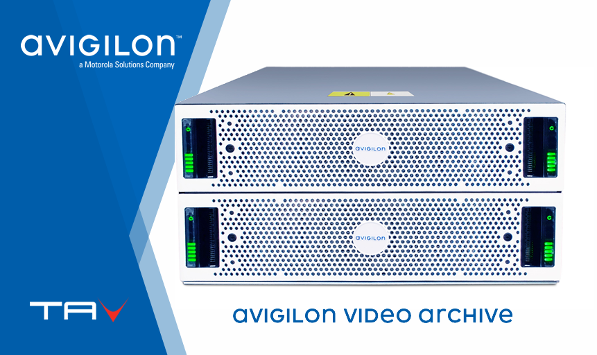 Avigilon Video Archive: espandi l'archiviazione video a più petabyte