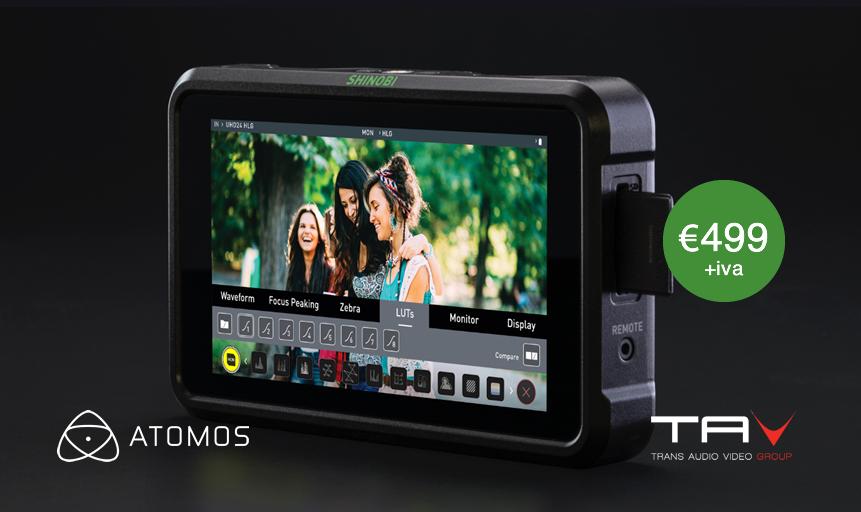 Nasce Atomos Shinobi SDI - Trans Audio Video S r l
