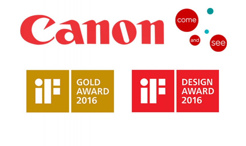 Canon vince sette iF Design Award
