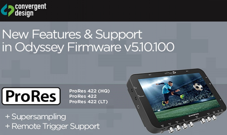 Odyssey Firmware v5.10.100 download disponibile!