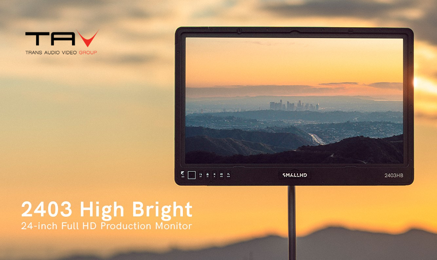 "SmallHD 2403 High Bright: il monitor da 24"" più luminoso al mondo"