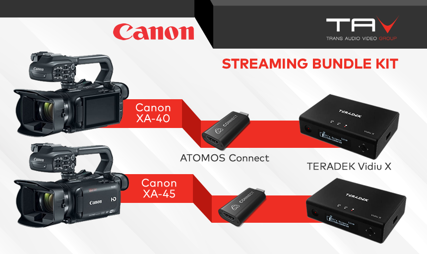 Canon Streaming Bundle kit