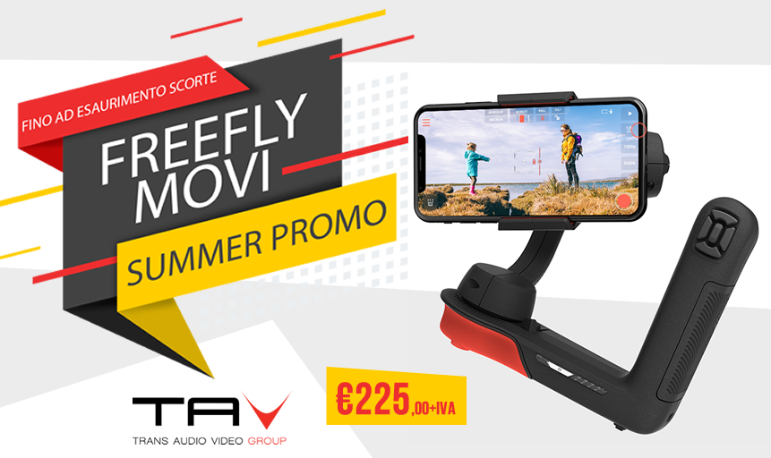 Summer promo Freefly Movi per iPhone