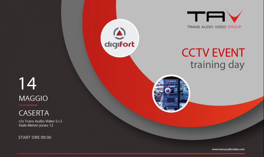 Evento CCTV - Training day