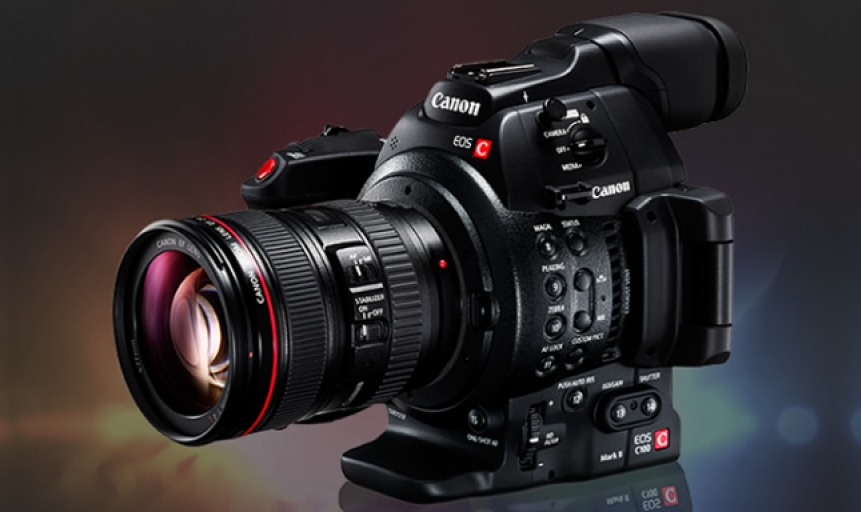 Scopri la nuova camera Cinema EOS C100 Mark II