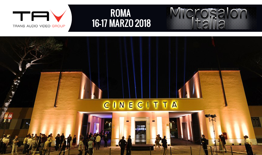 Trans Audio Video a MicroSalonItalia 2018