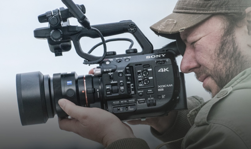 PXW-FS5: Riprese a mano in Super 35