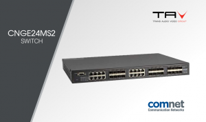 ComNet Europe: switch managed 8 porte in fibra ottica 16 slot combo
