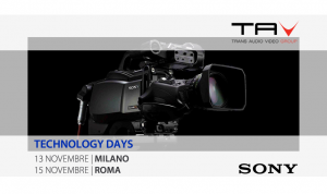Sony Technology Days a Milano e Roma