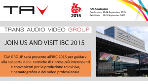 TAV GROUP ALL'IBC 2015