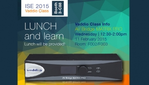 Vaddio Class at ISE 2015
