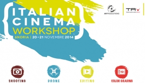 "TAV: Partner tecnico di ""Italian Cinema Workshop 2014"""