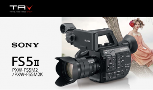 Sony nuovo Camcorder Super35 PXW-FS5 II