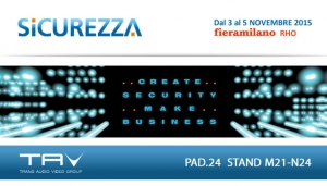 Sicurezza 2015... Coming soon