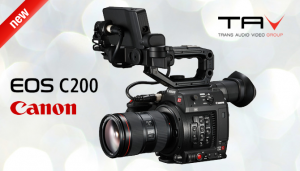 Canon EOS C200: Esplora la tua creatività in 4K 50P Cinema RAW Light