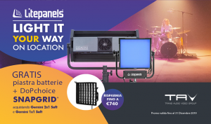 Promo Litepanels: Light it your way