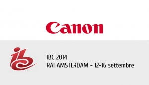 Canon: Enjoy free entry to IBC2014!