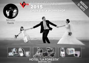 Open Day - Workshop _ 26 Maggio Montoro (AV)