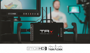 SmallHD e Teradek: Tecnologia combinata con Bolt Wireless 703 Director's Monitor