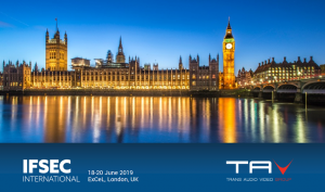 Trans Audio Video a IFSEC London 2019