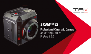 Trans Audio Video distribuisce in Italia Z CAM™