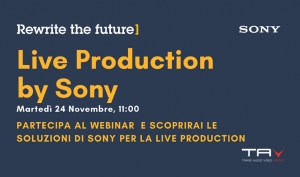 "Webinar ""Live Production by Sony"""