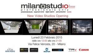 Inaugurazione nuovi studi Video & Foto di Milanostudio Digital