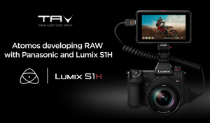 Atomos e Panasonic annunciano il full frame RAW video dalla Lumix S1H al Ninja V