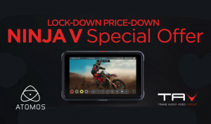 "Atomos Ninja V ""Lock-Down Price-Down Promotion"""