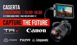 Evento Canon Capture the Future - Caserta