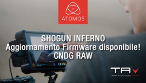 Nuovo Firmware update disponibile per Atomos Shogun Inferno