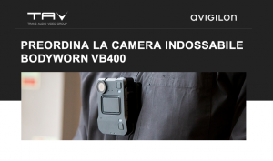 Prenota la camera indossabile Avigilon VB400