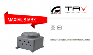 MBX: communication box antideflagrante in acciaio inox
