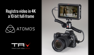 Atomos registra video in 4K a 10-bit full-frame