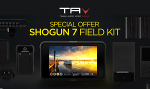 Atomos ti regala il nuovo Shogun 7 Accessory Kit